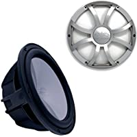 Wet Sounds REVO10HPS4-B Revo High Power 10 Subwoofer with Grill - Black Subwoofer & Silver XS Grill
