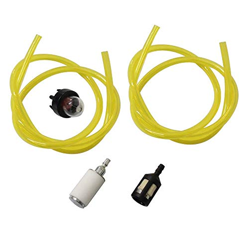 Podoy 188-512-1 Snap Primer Bulb Fuel Line Filter Zf-1 Fuel Filter Replace for 3214 3216 3516 Chainsaws