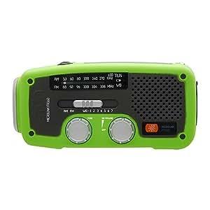 Eton FR160 - Radio (Personal, Digital, AM, FM, 3,5 mm, 133 mm, 144 mm) Verde