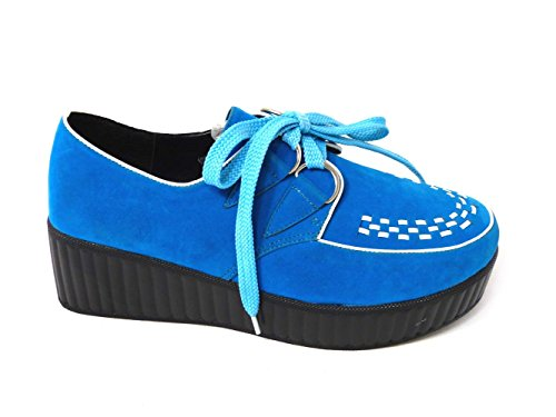 SKO'S , Chaussures bateau pour femme Blue (8919-2a)