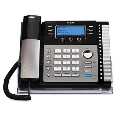 Telefield N.A. RCA 4-Line EXP Speakerphone w/ ITAD RCA-25425RE1