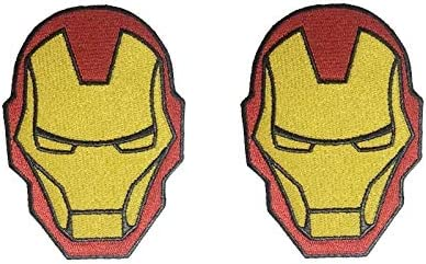 Proof that Tony Stark has a Heart Embroidered Iron On Patch