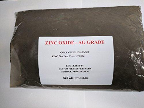 Zinc Oxide Powder - Agricultural Grade - 10lb Bag