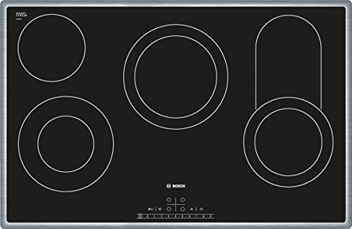 Bosch PKC845F17 Serie 6 Elektro-Kochfeld / Ceran/Glaskeramik / Breite: 79.5 cm / DirectSelect Classic / TopControl Digitalanzeige