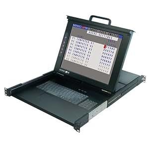 TRIPP LITE Minicom SMARTRACK 116 16-Port Cat5 KVM Rack Console LCD TAA (0SU52091)