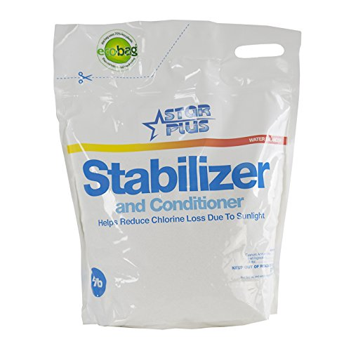 Pool Stabilizer Conditioner (Star Plus Stabilizer & Conditioner Swimming Pool pH Balancer Pouch, 4 Pounds)