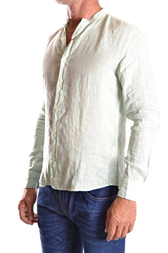 Altea Herren MCBI016032O Weiss Baumwolle Hemd