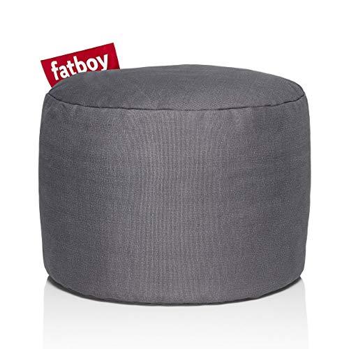Fatboy PNTSTW-Gry Point Stonewashed Bean Bag, Grey