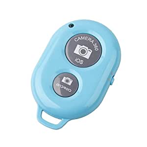 Kootek Bluetooth Wireless Remote Control Camera Shutter Release Self Timer for IOS Android Smartphone Tablet IphoneIpad Sony Xperia, HTC New One and X, Samsung Galaxy Note Google Nexus(Blue)