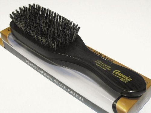 Price comparison product image Annie Professional Wave Brush 100% Natural Boar Medium Bristle