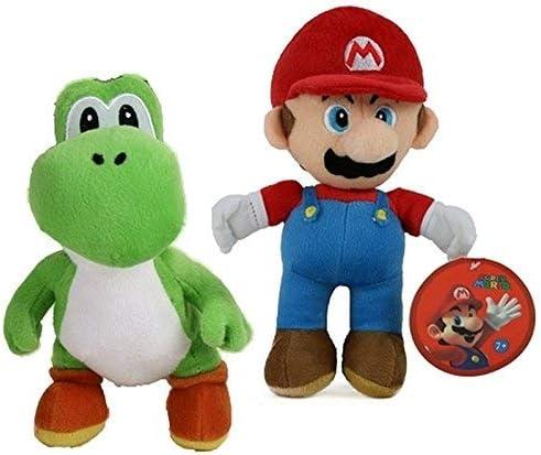 Peluche Mario Yoshi Super Mario Bros 27cm: Amazon.es: Juguetes y ...