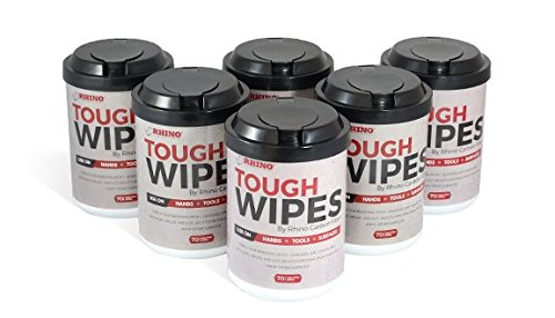 - Heavy Duty Hand Wipes - Waterless Hand Cleaner Wipes for Tools, Epoxy Removal, Adhesive, Grease, Ink, Dirt & Many More Surfaces - Antibacterial Cleaning Wipes(Pack of 6)