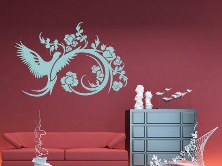 Adhesivos decorativos, tatuaje pared Paloma y magia en de varias ...