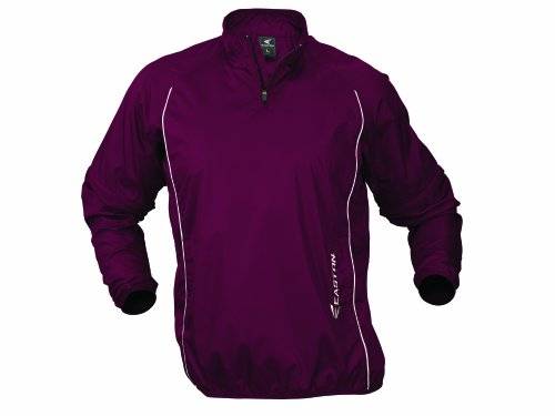 - Easton Men's Tremor All-in-One Batting Jacket, Maroon, X-Large