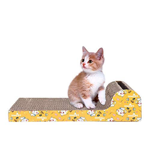 Orcbee  _Cat Scratching Posts with Catnip Scratching Posts Durable Cat Toy Scratch Board