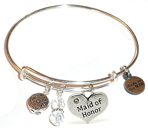 Message Charm (22 words to choose from) Expandable Wire