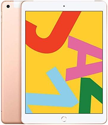 Apple iPad (10.2-Inch, Wi-Fi + Cellular, 32GB) - Gold seventh Generation (Renewed)
