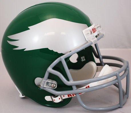 Riddell NFL Philadelphia Eagles 1959-1969 Throwback Replica Vsr4 Full Size Football Helmet 1969 Riddell Mini Replica