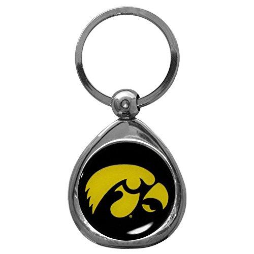 Siskiyou NCAA Iowa Hawkeyes Key Chain, Metal/Chrome