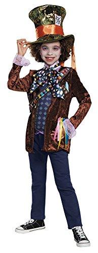 BESTPR1CE Boys Halloween Costume-Mad Hatter Classic Kids Costume Medium 7-8