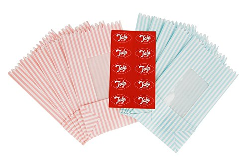 Tala Originals Stripy Treat Bags with Window George East Housewares 10B10765
