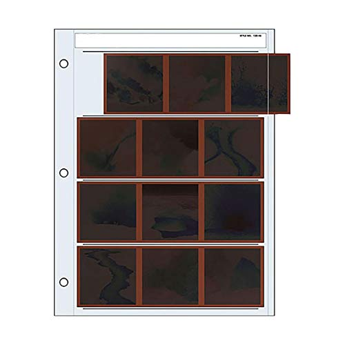 Hojas para negativos 6x6cm - 20x25cm 100 unidades