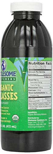 Wholesome Sweeteners, Blackstrap Molasses, 16 oz by Wholesome (Image #3)