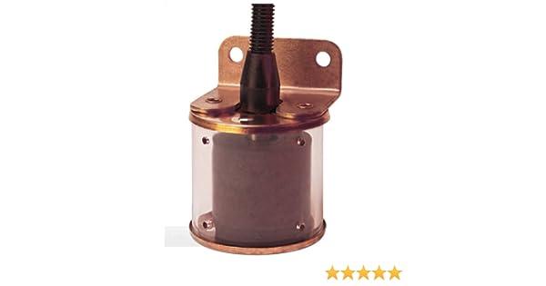 SPST//Normally Open 1-7//8 Diameter 1-3//8 Actuation Level Gems Sensors /& Controls 1-7//8 Diameter Gems Sensors 43980 Buna N Float Bracket Mounted Slosh Shield Single Point Level Switch 1-3//8 Actuation Level 50VA
