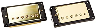 1set Humbucker Pickup Gold for Gibson Les Paul Replacement by Shenzhen Lotmusic Technologe Co.,Ltd