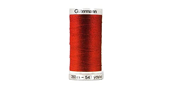 Amazon.com: Gutermann 2T250/802 | 802-Pale Cream 100% Polyester Sew All Sewing Thread 250m