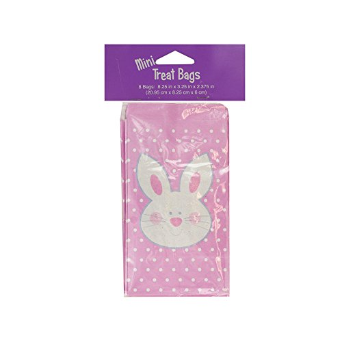 Kole Imports PC242 Mini Easter Bunny Treat Bags,Multicolored by Kole Imports