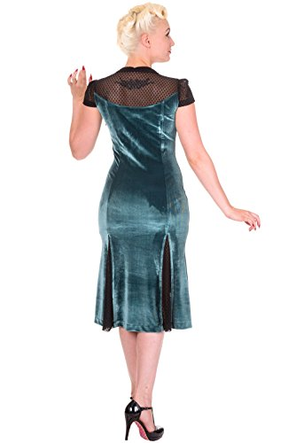 SENSATION Abendkleid Bottle 5069 DRESS Green Black Banned wq1FU64x6