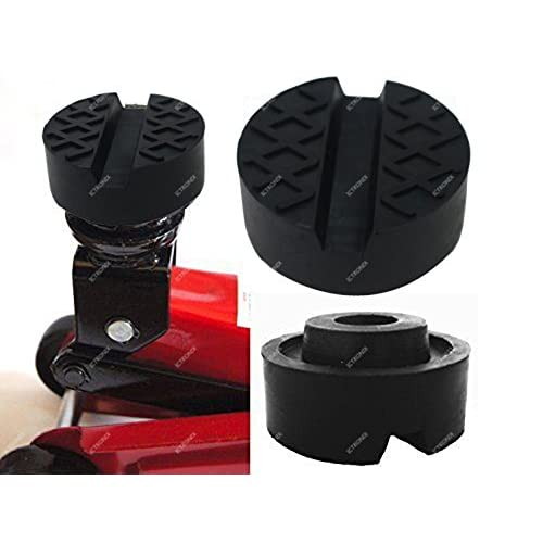 ICT Ronix universel 65x 25mm Nut & gaufré Bloc tampon en caoutchouc en caoutchouc Surface en caoutchouc Bloc en caoutchouc pour pont élévateur Cric