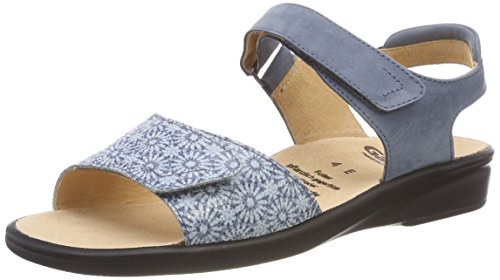Ganter Ladies Sonnenica-e Open Sandali Blu (jeans)