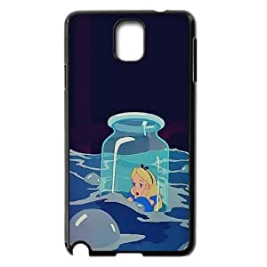 [MEIYING DIY CASE] For Samsung Galaxy NOTE3 Case Cover -Alice in Wonderland -Alice -Cheshire Cat-IKAI0446758
