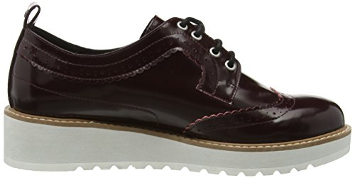 Pepe Chaussures Jeans Femme Lacées 299burgundy Violet Basic Ramsy rxqdtwgq