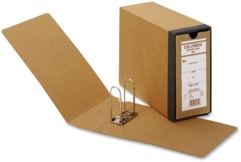 "Wholesale CASE of 15 – Globe Weis Columbia Binding cases-bindingケース、3 – 1 / 8 ""アーチ高さ、4 – 5 / 8 "" 12 – 7 / 8 "" x 9 – 1 / 2、""クラフト"