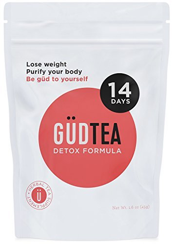 GUDTEA Weight Loss Tea: Appetite Suppressant, 14 Day Detox and Cleanse, Reduce Bloating, Stimulate Digestion, Lose Weight. Premium ALL ORGANIC - Zurich In Shopping