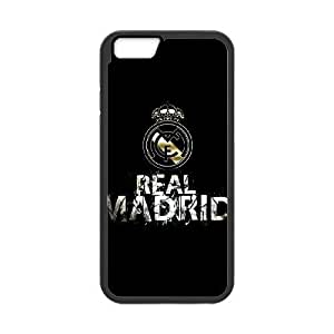 iPhone6 Plus 5.5 inch Phone Case Black Real Madrid MHF9920251
