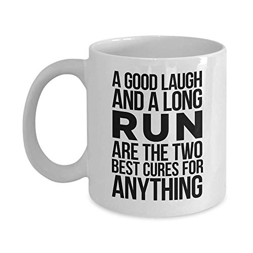 A Good Laugh and A Long Run are The Two Best Cure for Anything Gift Coffee - By Mo The Cure