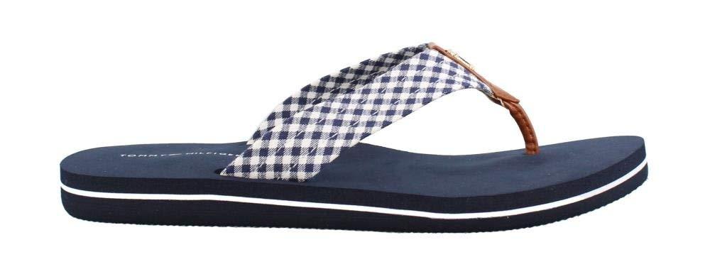 Tommy Hilfiger Women's, Crispi Thong Sandals Dark Blue 8 M