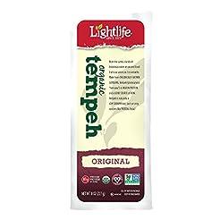LightLife, Tempeh, Original Soy, Organic...