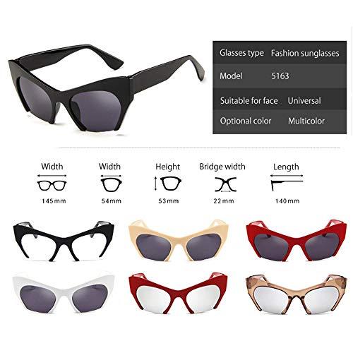 Pawaca para Sol y 05 Vintage Hombre Mujer Gafas polarizadas 06 de Unisex 7H7qr6