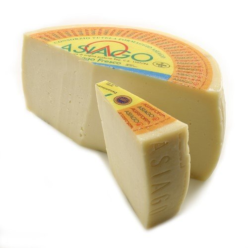 igourmet Asiago Pressato - 2 Pound Club Cut (2 pound)
