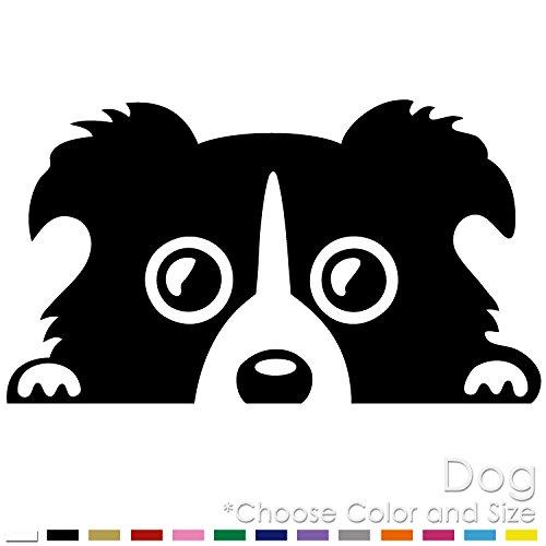 Dog in Car Friend Animal Vinyl Decal Sticker (DG-01)
