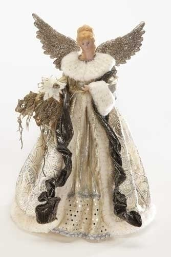 Angel Figures Exclusive Angel Tree Topper Dressed in