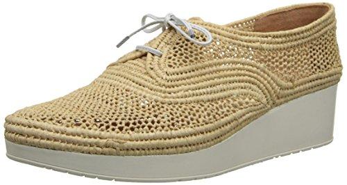 Robert Clergerie Womens Vicolei Mode Sneaker Naturel Raphia / Naturel Blanc