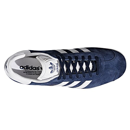 Collegiate White Adidas Gold Zapatillas Tenis Trainer Hombre Gazelle Navy Deportiva Sneaker para xq8xvT