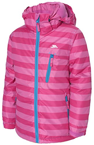 Trespass Girl's TP50 Poppy Jacket, 2/3, Soft Pink by Trespass