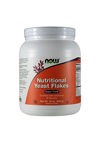 NOW Foods Nutritional Yeast Flakes — 10 oz For Sale